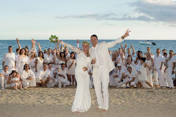 Heiraten am strand von ibiza